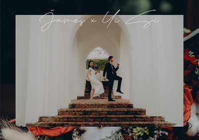 Cover Template Artistic Wedding Photoshoot