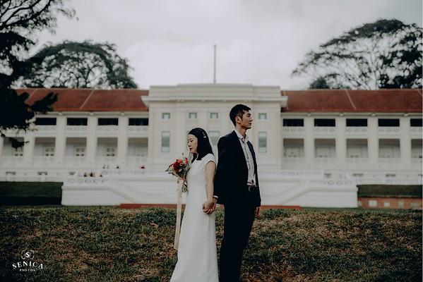 Artistic Wedding Photoshoot