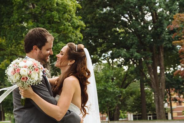 Jordan & David. Married