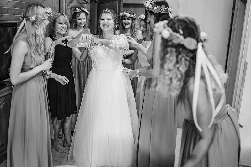 přípravy nevěsty - Perla Jizery