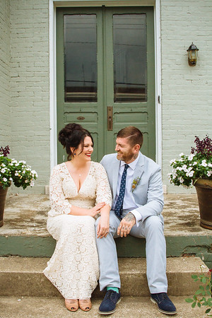 Marcie & Gary. Married