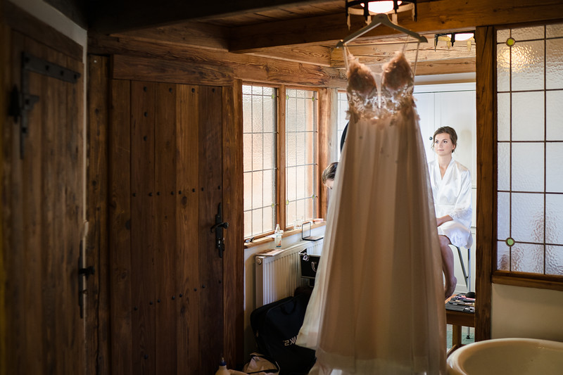 připrava nevěsty Dračí tvrz