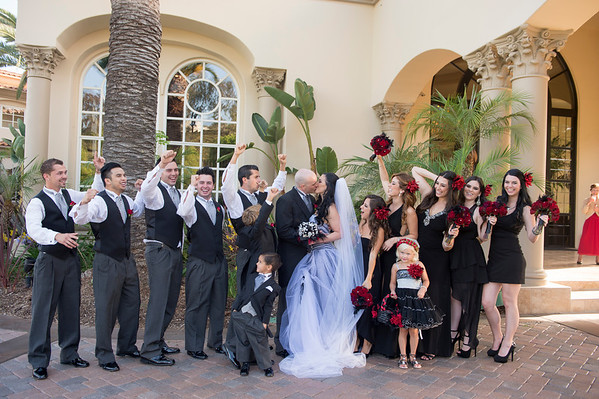 McMullen: Bridal Party and Family