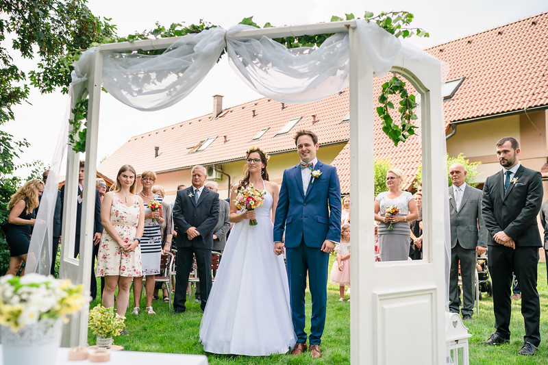 svatební obřad Penzion nad Oborou
