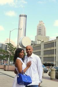 Mr & Mrs Gipson pre-engagement photos