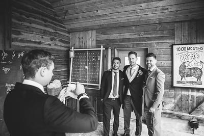 4 N&J Nancarrow Farm Wedding Cornwall-BW
