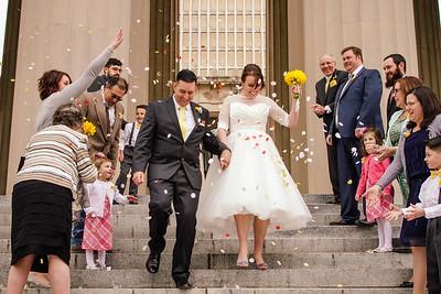 Nina & Jose. Married