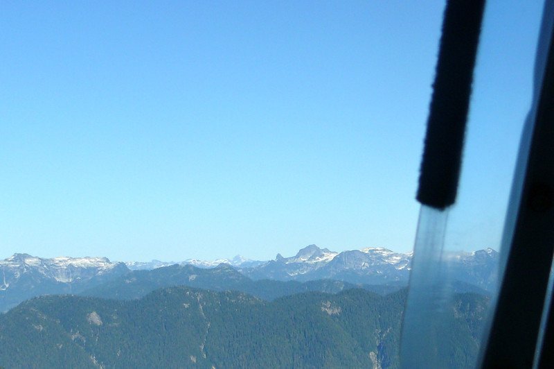Besides being our transportation to get to our Cruise, our Helicopter ride also provided us a tour over North Vancouver & Downtown Vancouver... it was pretty cool seeing snow capped Mountains in July!