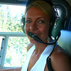 Looks like Nancy is all ready for our 1st Helicopter ride... cool!! :-)
