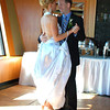"And for our final moments before heading off for our Honeymoon Cruise to Hawaii we enjoyed our 1st dance (to Peter Gabriel's ""Book of Love"") as Mr. & Mrs. Power... we know what you're thinking... ""awe, how sweet""! :-)"