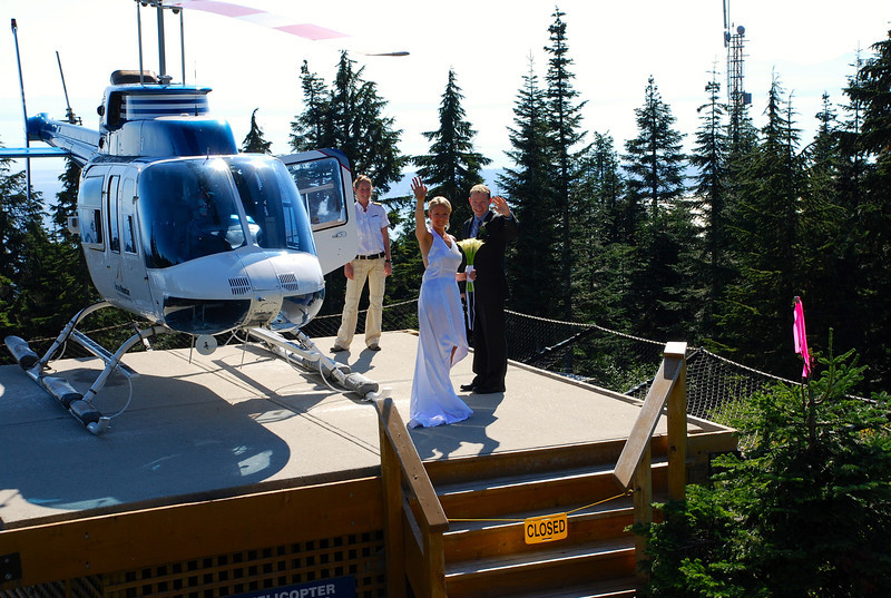"""We definitely chose a great time to take our 1st ever """"Chopper"""" ride... it's a Helicopter ride we'll never forget! :-)"""