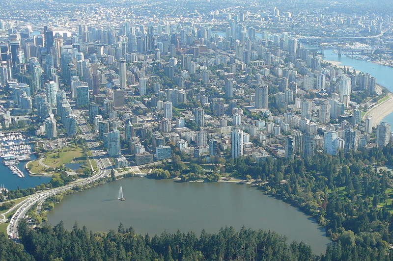 "Check out the Amazing views we experienced during our ride of Beautiful Downtown Vancouver and Stanley Park's ""Lost Lagoon""."