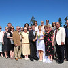There we are with our families enjoying the Beautiful day and amazing Wedding we had up on Grouse Mountain.
