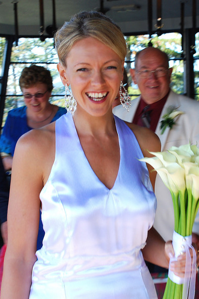 There's Nancy looking super Happy on our Special day. Between the amazing weather we had, our Families being with us and getting to marry Shawn, what else could a Woman ask for. :-)