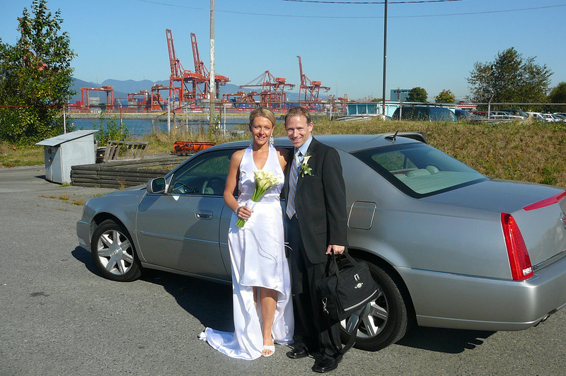 """Thanks to the """"Fairmont Waterfront"""" Hotel for sending us a nice ride to bring us over to our ship from the Helipad!!"""