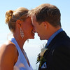 Of course we had to get a quick smooch in after exchanging our vows. :-)