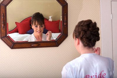 Bride preparing for Wedding in Northampton