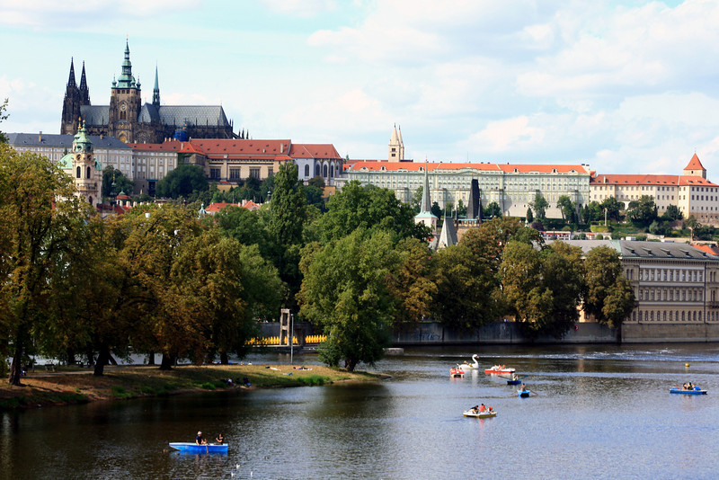 Mala Strana and the Prague Castle