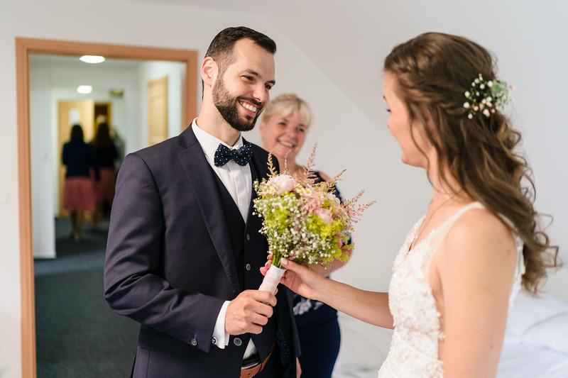 svatba v chatě Alba