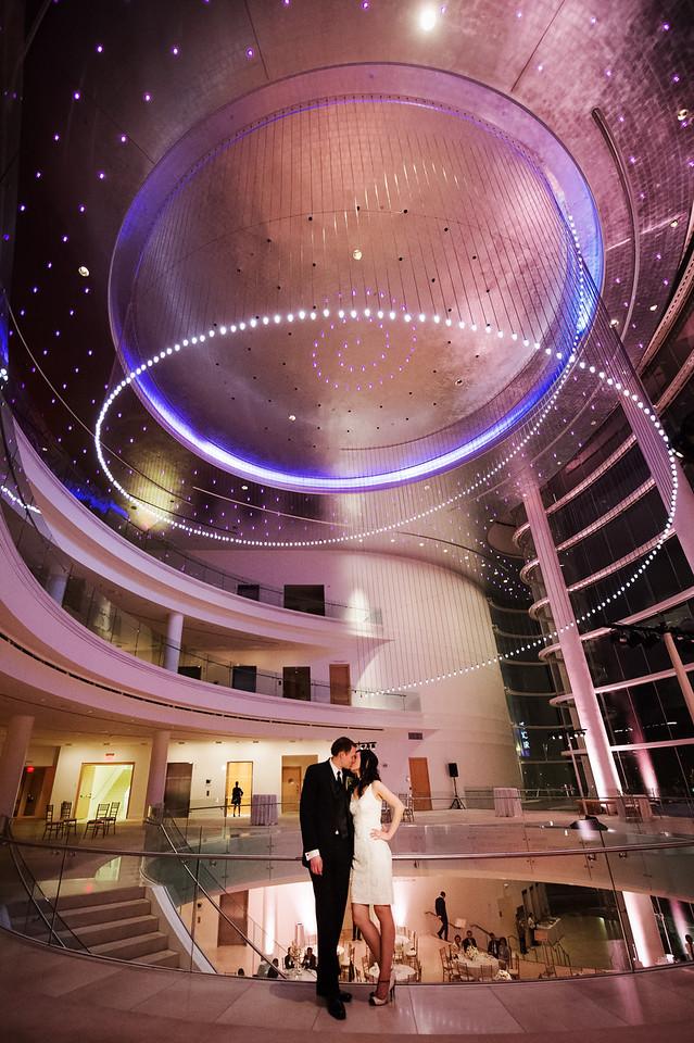 Segerstrom Concert Hall Wedding by KLK Photography