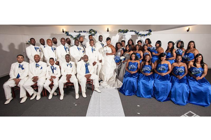 Williams wedding party 24x36