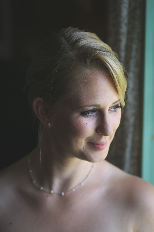 Bridal Portrait, Greensboro Vermont