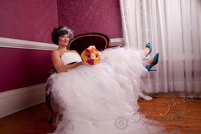 BRIDAL PORTRAIT BY SHERI JOHNSON AT HILL MANOR KENNESAW GA