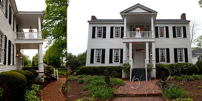 Wedding at Hazlehurst House, McDonough, GA
