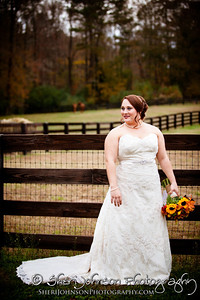 BRIDAL PORTRAIT AT THE REID BARN CUMMING GA