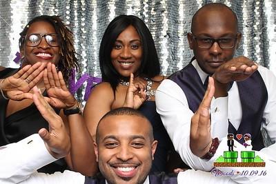 Candis Woods & Darin Woods Wedding 10/9/16