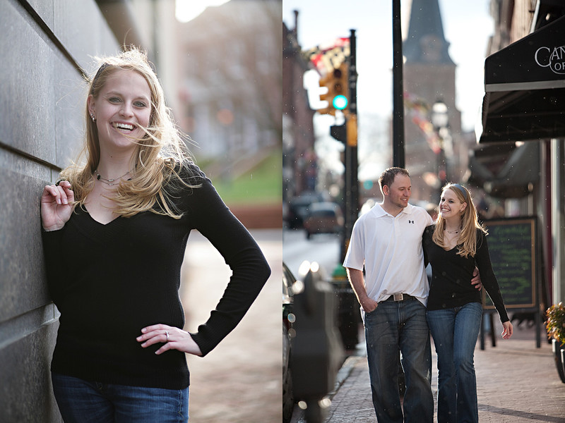 Engagement Session in Annapolis