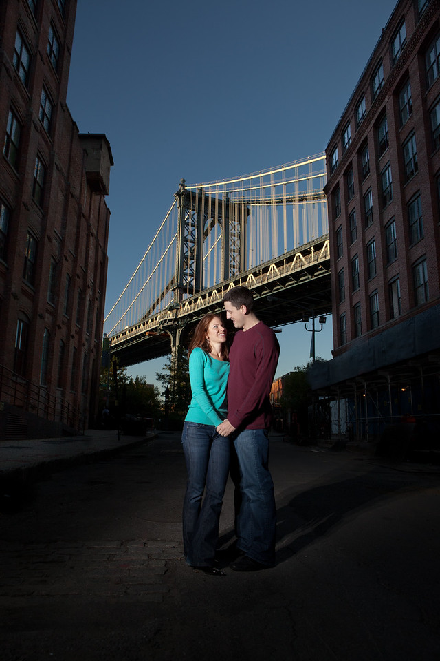 Engagement Session in Brooklyn, NY