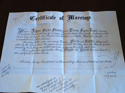 Wedding Certificate Draft