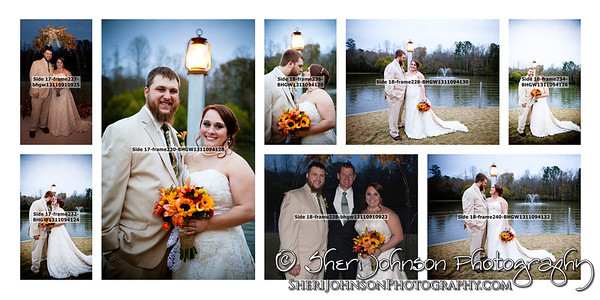 Wedding Album Design by Sheri Johnson Cumming GA