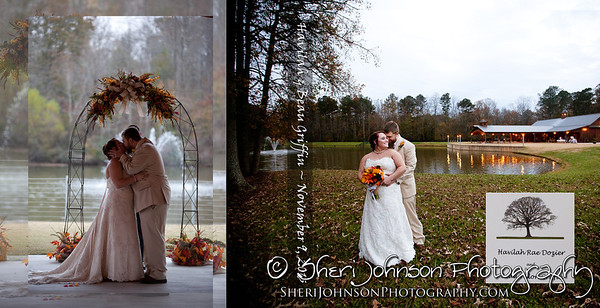 Wedding Album COVER Design by Sheri Johnson Cumming GA