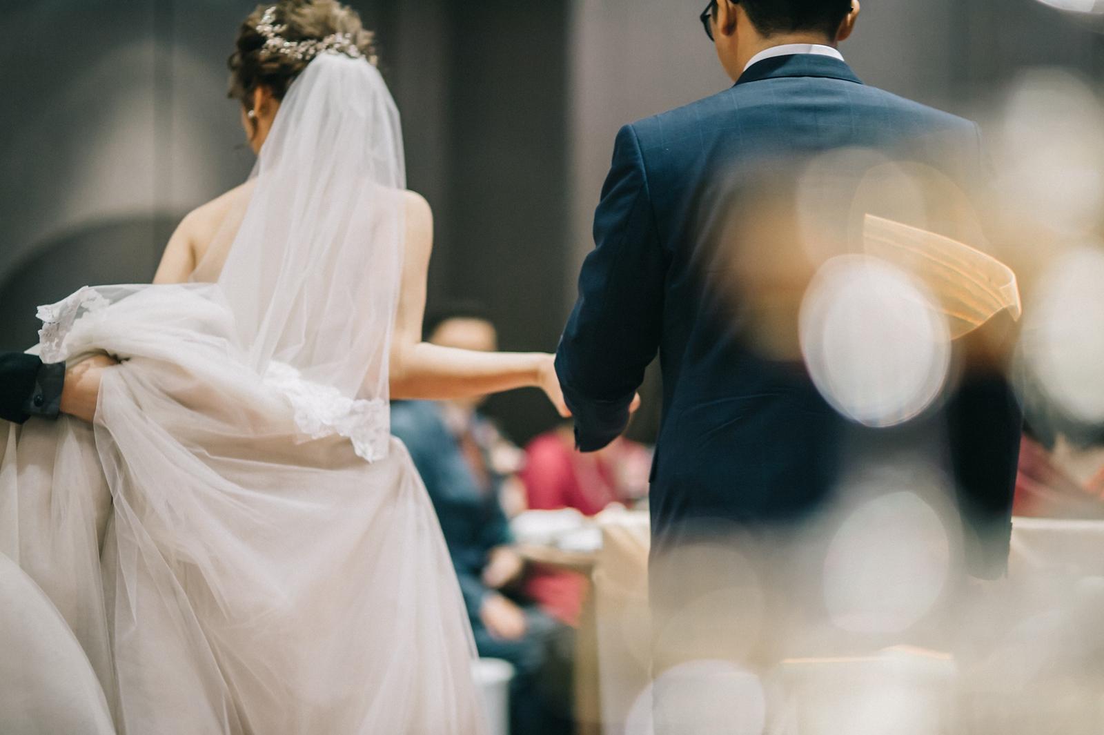 婚禮紀錄 文定儀式 美式風格 美式婚紗 寒舍艾美酒店