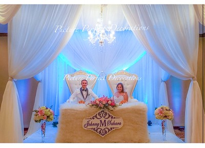 Bride and Groom chairs MANDAP