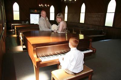 Piano at the Altar.