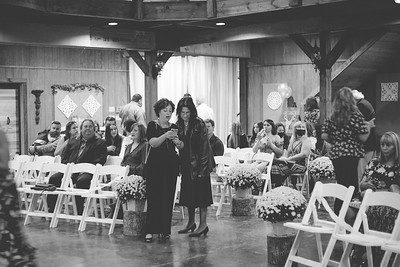 The Bennett's Wedding Ceremony at Simply Southern Barn