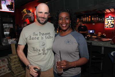 Andrew and Zoë @ The Chromatic Dragon