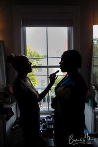Andrew and Zoë prepare