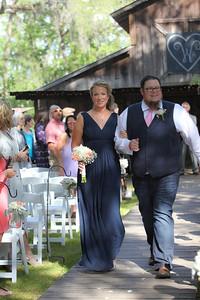 Withhart Wedding Ceremony, Tucker's Farmhouse