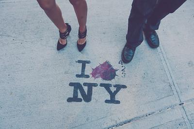 Tina and John, NYC