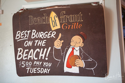 Rehearsal Dinner hosted at Beach Front Grill, Flagler Beach, Florida