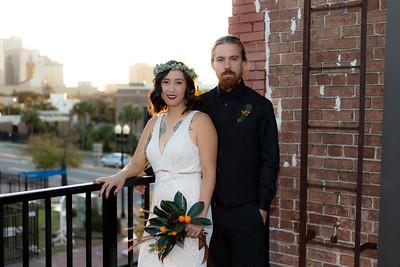 Mitchell & Kira's Reception, Brick and Beam