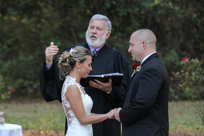 Justin and Tiffany Bass' Wedding Ceremony
