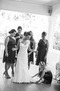 Wedding Preparations at The Grand Magnolia House