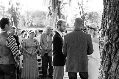 Evans' Wedding Ceremony
