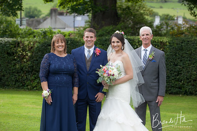 Rauco Wedding Family and Guest Portraits, The Ghan House, Carlingford Ireland
