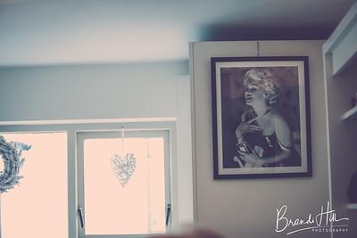 Brittany prepares at MaJic Hair & Beauty, Carlingford Ireland